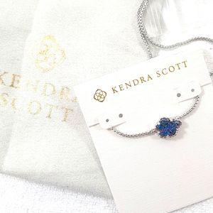 Kendra Scott Tess Silver Pendant Necklace Drusy